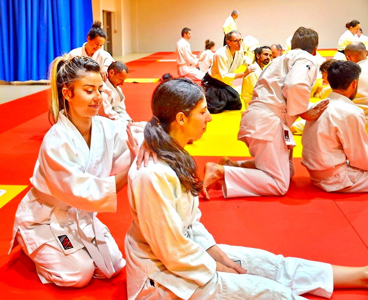 aïkido kwatsu au dojo  Alain Peyrache sensei dojo de Lypn 69